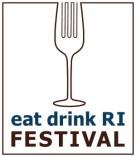 Eat Drink RI Festival logo (vertical)