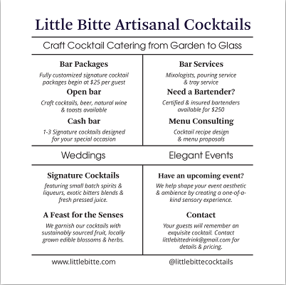 cocktail catering RI